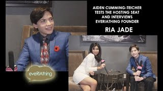 Aiden Cumming-Teicher Tests the Hosting Seat with Show Founder, Ria Jade