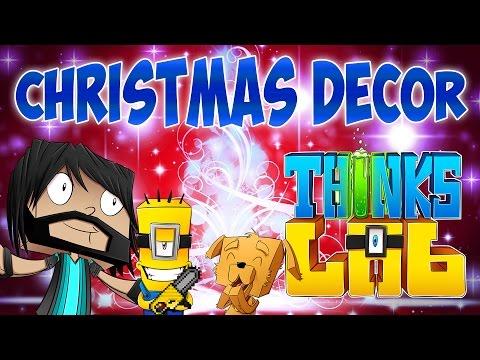 christmas tree chainsaw massacre thinks lab minecraft mods minecraft roleplay - Christmas Minecraft Videos