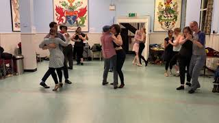 The Stride Blues Dance London Group Improvisation 2018