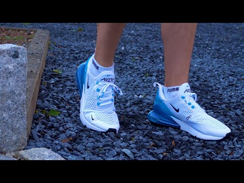 NIKE AirMax 270 (blau) REVIEW & Test nach 1 JAHR - Techcheck