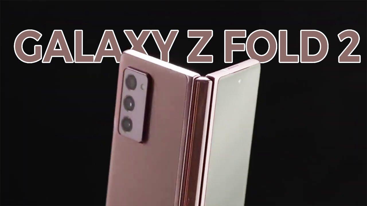 Bất ngờ trên tay Samsung Galaxy Z Fold 2 trước giờ ra mắt!