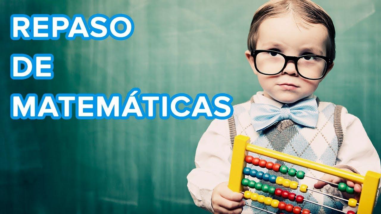 Repaso de matemáticas para niños | Tablas, divisiones y cuadrados ????