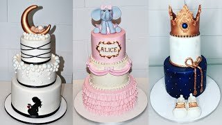 Cake Decorating Tutorials | BABY SHOWER CAKE COMPILATION PART 1 | Sugarella Sweets