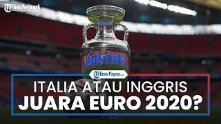 Italia dan Inggris, 2 Tim Terbaik saat Ini