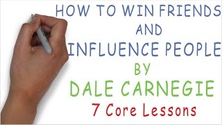 How to Win Friends and Influence People By Dale Carnegie | 7 Core Lessons - #03 WHITEBOARD ANIMATION