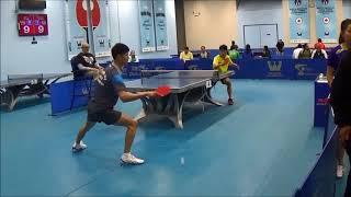 Westchester Table Tennis Center May 2018 Open Singles Semi Final - Jian Li vs Kaden Xu