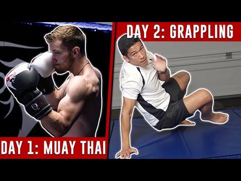 MMA Training Schedule (1 Week) - No Equipment Needed!