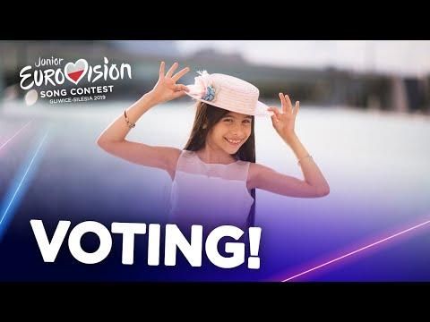 Junior Eurovision 2019 - Voting (Closed)