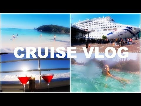 Cruise GoPro Vlog – Taste of New Caledonia – P&O Pacific Explorer