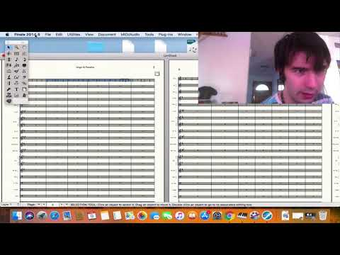 All about music composition, specifically composing for concert or symphonic band.