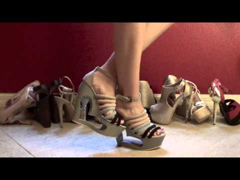 HD video review of ShoeDazzle's Darylle- I HEART WEDGES!