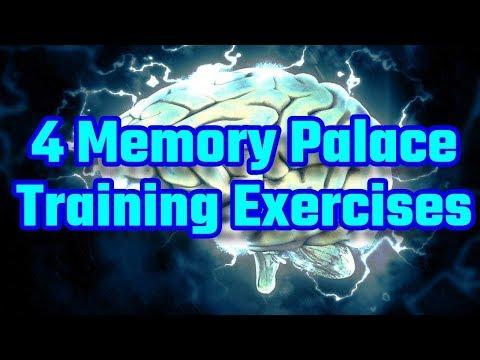 4 Memory Palace Training Exercises - YouTube