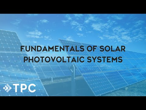 Fundamentals of Solar Photovoltaic Systems - YouTube