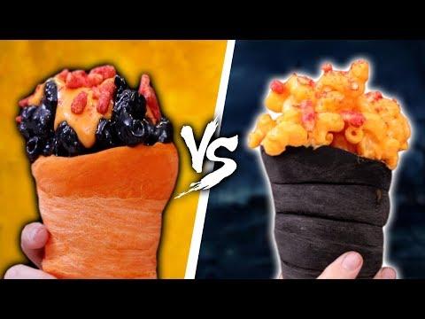 DIY FLAMIN' HOT MAC AND CHEESE CONES