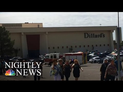 Shooting At Crowded Atlanta Mall Sparks Panic; 1 Injured | NBC Nightly News