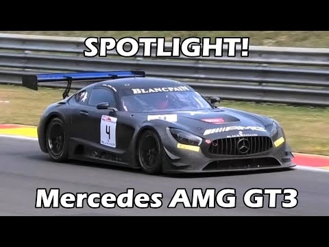 SPOTLIGHT! Mercedes AMG GT3 at Spa-Francorchamps