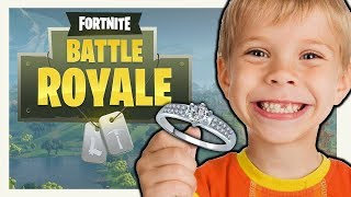 Kid Asks Me To Marry Him In Fortnite