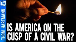 Historian Warns America's Next Civil War Is Near