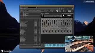 Kontakt Synth  Hideaway Studio  Zero 1  Mangled Tape CS01 Monosynth