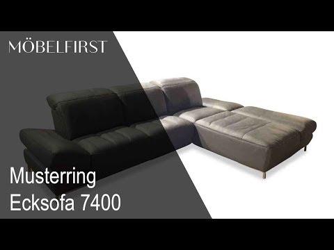 Designermöbel – Ecksofa 7400 von Musterring | MÖBELFIRST präsentiert