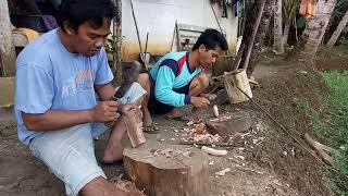 Kontes Bikin Handle/ Gagang Golok..