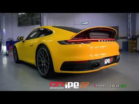 Porsche 992 Carrera 4S w/ Full iPE Exhaust System