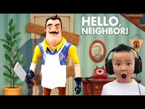 Found His Secret Basement Hello Neighbor Act 3 Part 1 CKN Gaming