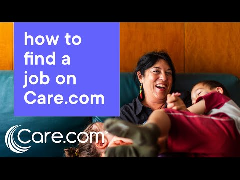 How to Find a Job on Care.com