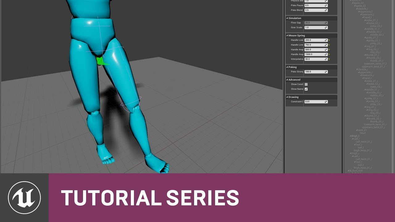 PhAT: Introduction to Constraints | 03 | v4.2 Tutorial Series | Unreal Engine
