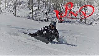 スノーボード カービング フリーラン チームPNX 1