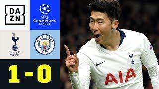 Heung-min Son Schockt Pep Guardiola: Tottenham - Manchester City 1:0 | UEFA Champions League | DAZN