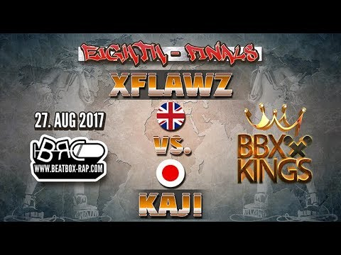 xFlawz VS Kaji | BBXKINGS | Eighth Finals (2017-08-27)