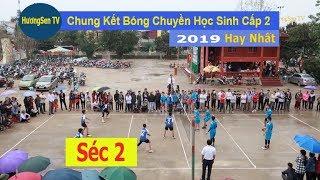 Chung kết bóng chuyền học sinh cấp 2 Thạch Thành 2019 | Thành Minh & Thạch Sơn- SÉC 2