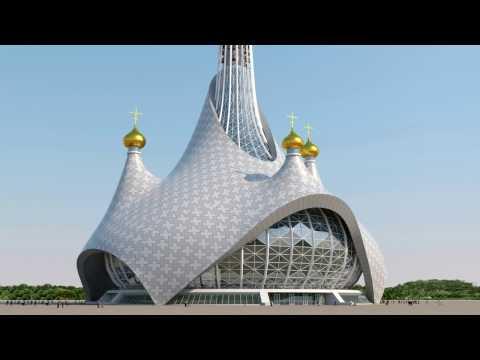 Владимир много церквей