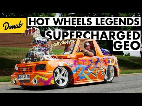 Insane Supercharged Chevy Geo Tracker Wins Big At Hot Wheels Legends Tour Charlotte