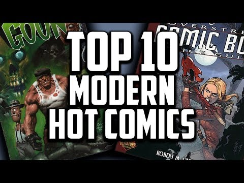 Download Top 10 ALL TIME Modern Comic Books - Overstreet 48th