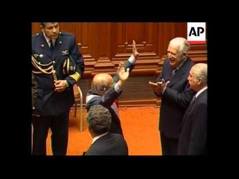 PERU: VALENTIN PANIAGUA BECOMES INTERIM PRESIDENT