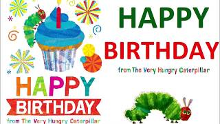 Happy Birthday From The Very Hungry Caterpillar-Story Time With Frozendoll- Kids Book Reading