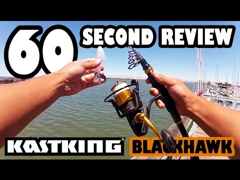 60 SECOND REVIEW: KastKing BlackHawk Telescopic Travel Rod