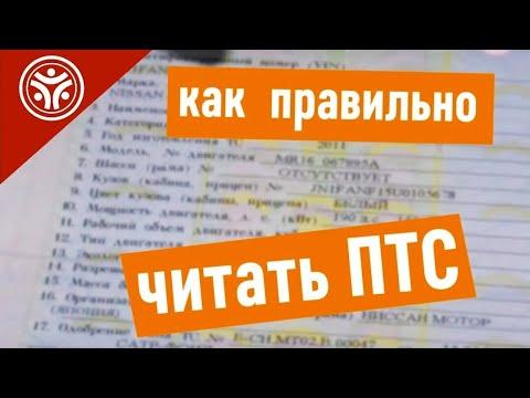 Как правильно читать ПТС Паспорт Транспортного Средства  (Советы от РДМ-Импорт)