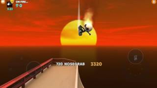 If you ever encounter this opponent in Stickman Skate Battle he is good really good