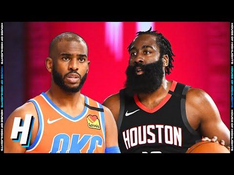 Oklahoma City Thunder vs Houston Rockets – Full Game 1 Highlights | August 18, 2020 NBA Playoffs