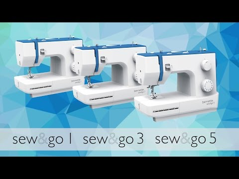 Bernette Sew&Go 1 naaimachine