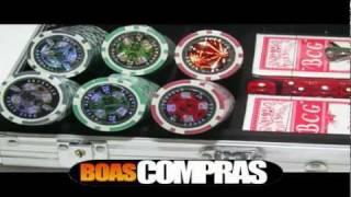 Kit De Poker - Maleta 300 Fichas Numeradas De Poker - PESO OFICIAL 11,5g - BOASCOMPRAS