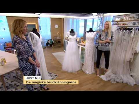 Brudklänningarna som gör dagen oförglömlig - Nyhetsmorgon (TV4)