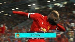 PES 2018 | MANCHESTER UNITED VS. MANCHESTER CITY | Manchester Derby | Legend Level Full Match