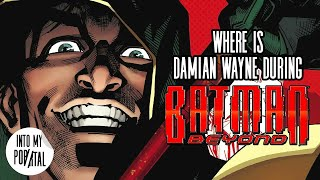Where Is Damian Wayne During Batman Beyond?