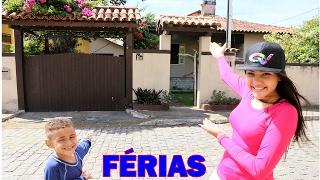 TOUR PELA CASA DE FÉRIAS