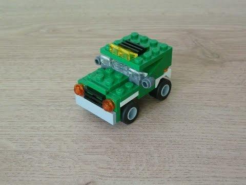 Vidéo LEGO Creator 5865 : Le mini camion benne