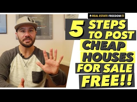5 Steps to Posting Cheap Houses For Sale on Craigslist
